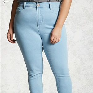 Forever 21 Jeans - ❗️24 HOUR SALE❗️ Forever 21+ light wash jeans